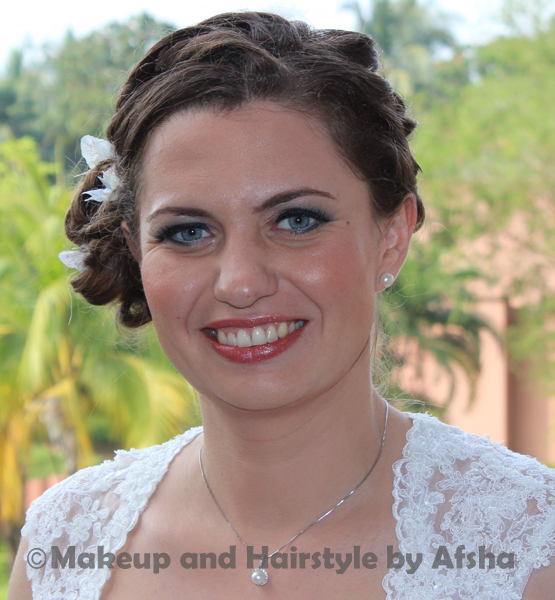Afsha - Makeup Artist in Goa
